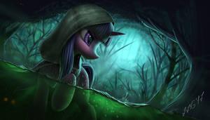Twilight in the swamp