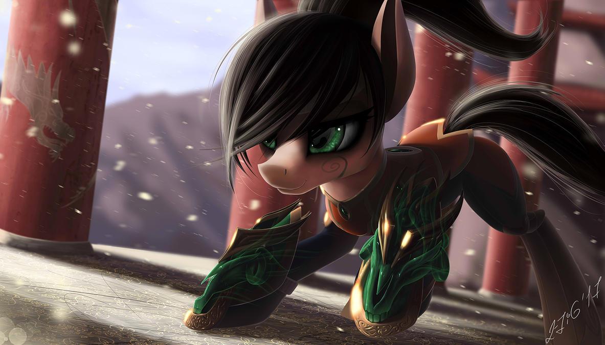 Jade pony by ZiG-WORD