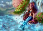 [+Speedpaints] Spring Mermaid - 4.21.19