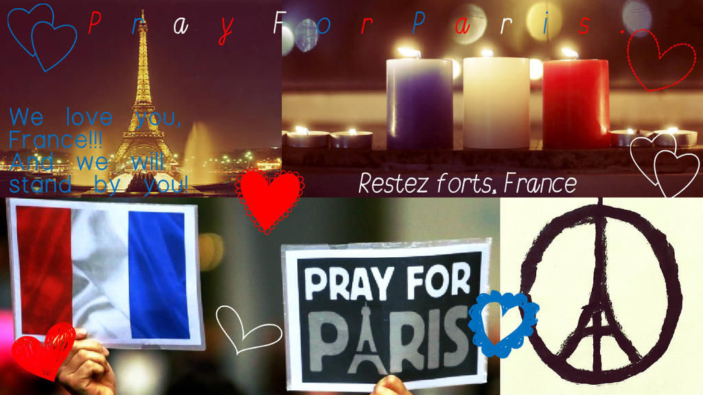 Pray for Paris and all of France. by Super-Flamin-Angel