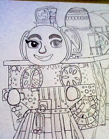 Ashima From Thomas And Friends The Great Race By Super Flamin Angel