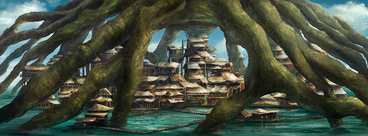 Mangrove Village by ChristianGerth