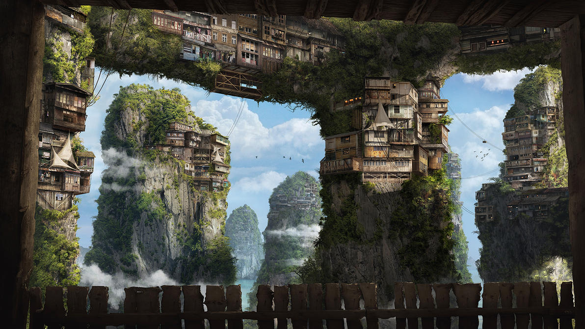 ~ Sky Village ~ by ChristianGerth