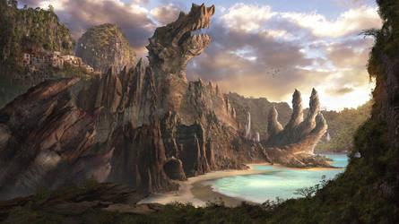 ~ Dragon Village ~ by ChristianGerth
