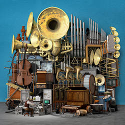 Serafin und seine Wundermaschine by ChristianGerth
