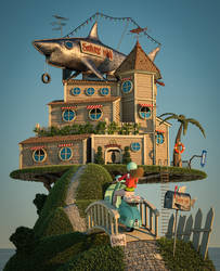 Shark Inn by ChristianGerth
