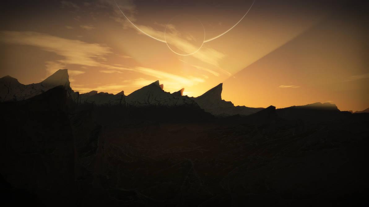 Rising Mountains by RushFreak2