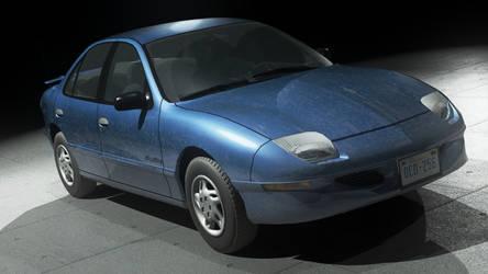 1995-1999 Pontiac Sunfire Sedan