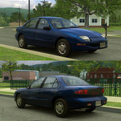 [Model] 1995-1999 Pontiac Sunfire Sedan