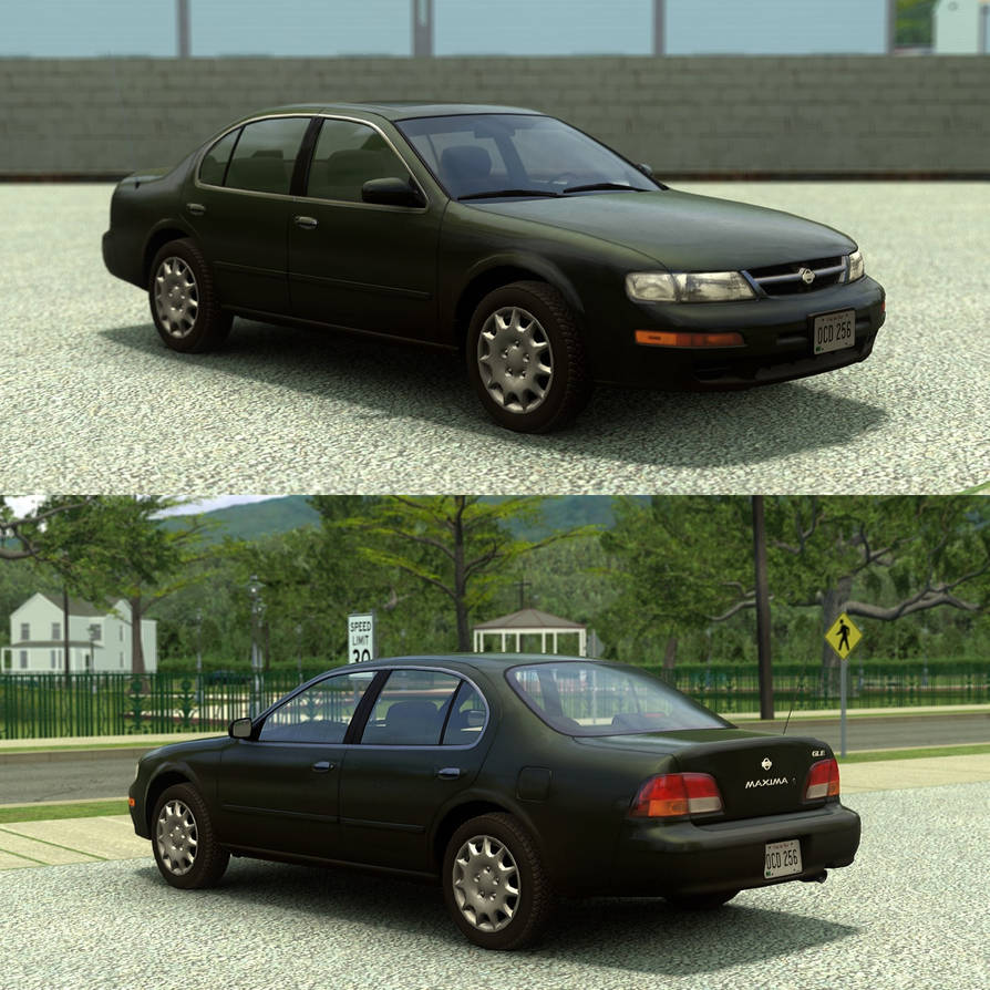 [Source] 1997-1999 Nissan Maxima by RushFreak2