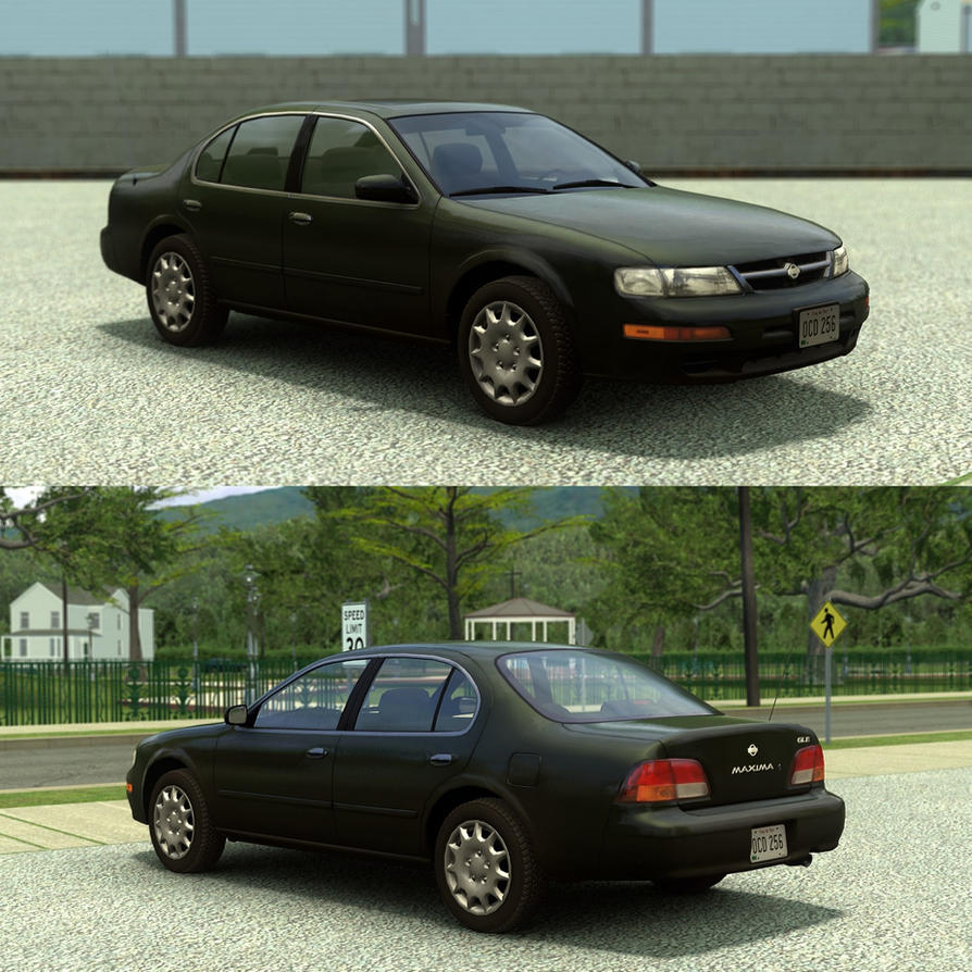 [Source] 1997-1999 Nissan Maxima by RushFreak2