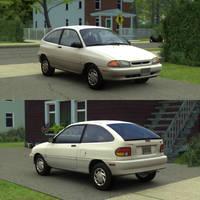 [Model] 1994-1996 Ford Aspire