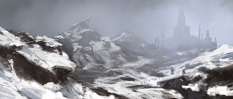 The Frozen Fortress by noahbradley