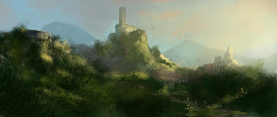 Ancient Fortress by noahbradley