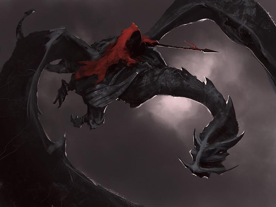 Crimson Rider by noahbradley