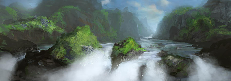The Falls by noahbradley