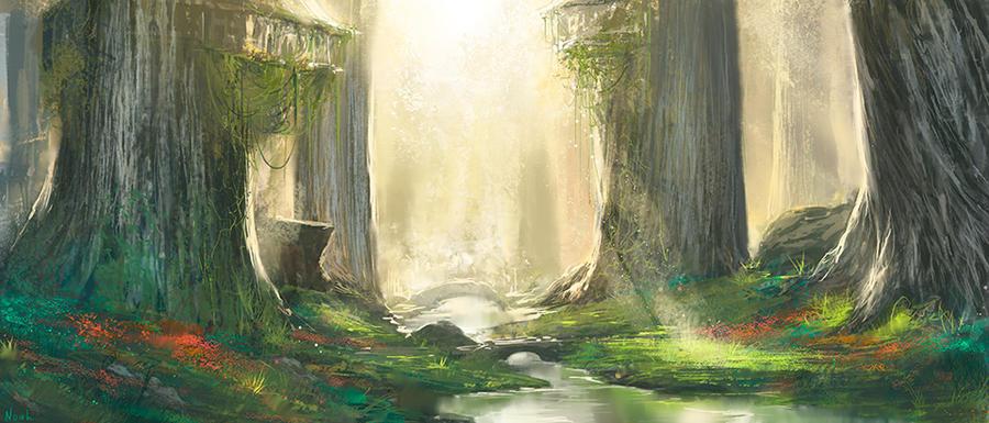 Lothlorien by noahbradley