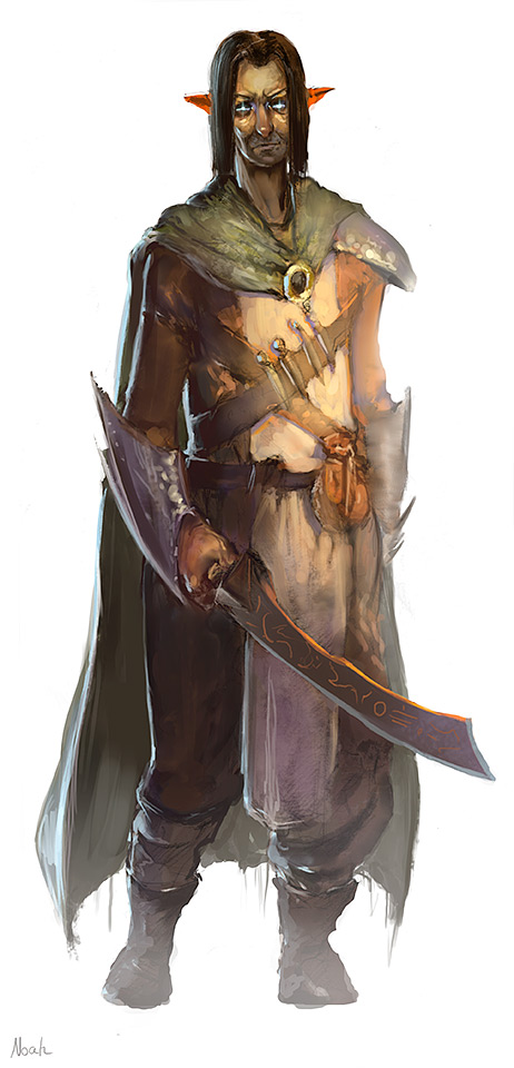 elf ranger by noahbradley on deviantart