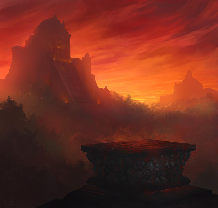 The Forgotten Temple by noahbradley