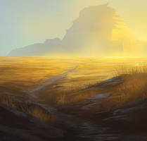 The Golden Plains by noahbradley