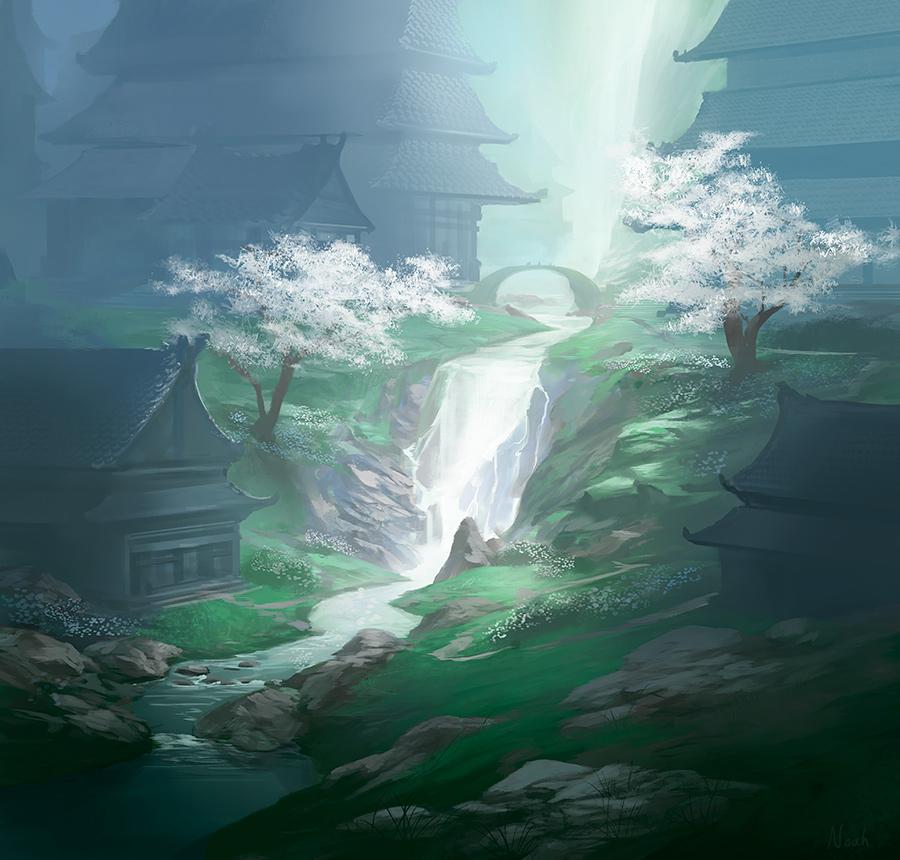Kyuden Otomo by noahbradley