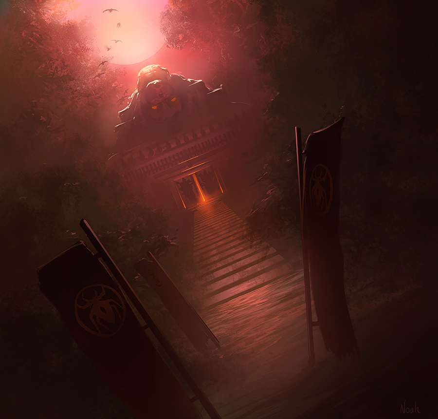 Keep of the Dead by noahbradley