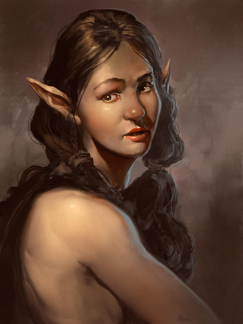 Pretty Elf Lady