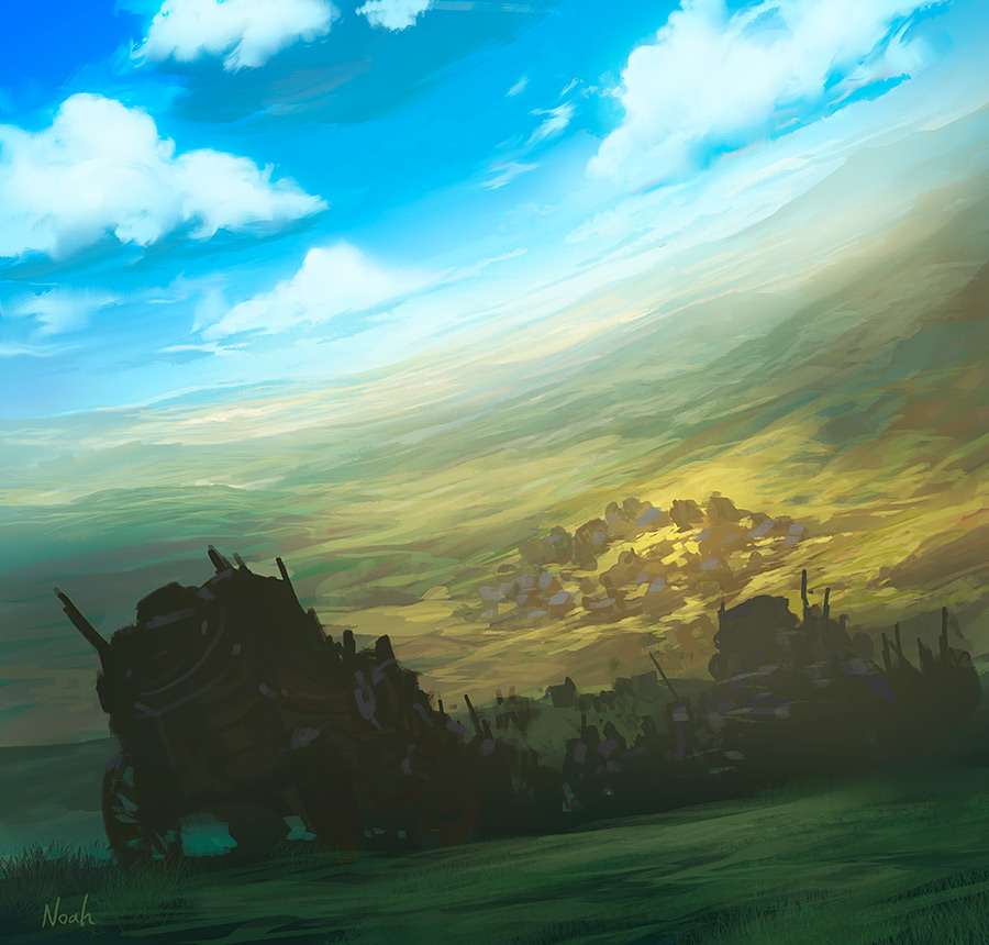 The Ki-Rin's Path by noahbradley