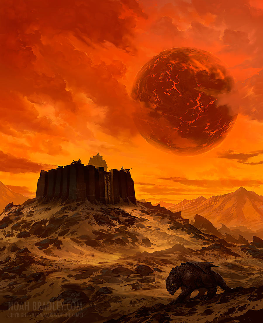 Cruel as a Desert Wind by noahbradley