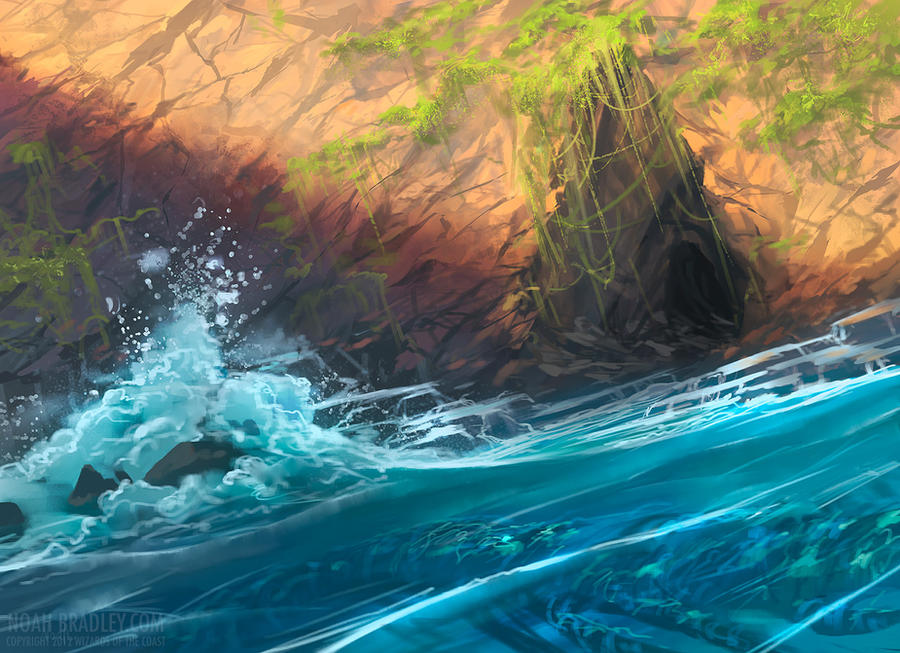 Sea Cave by noahbradley