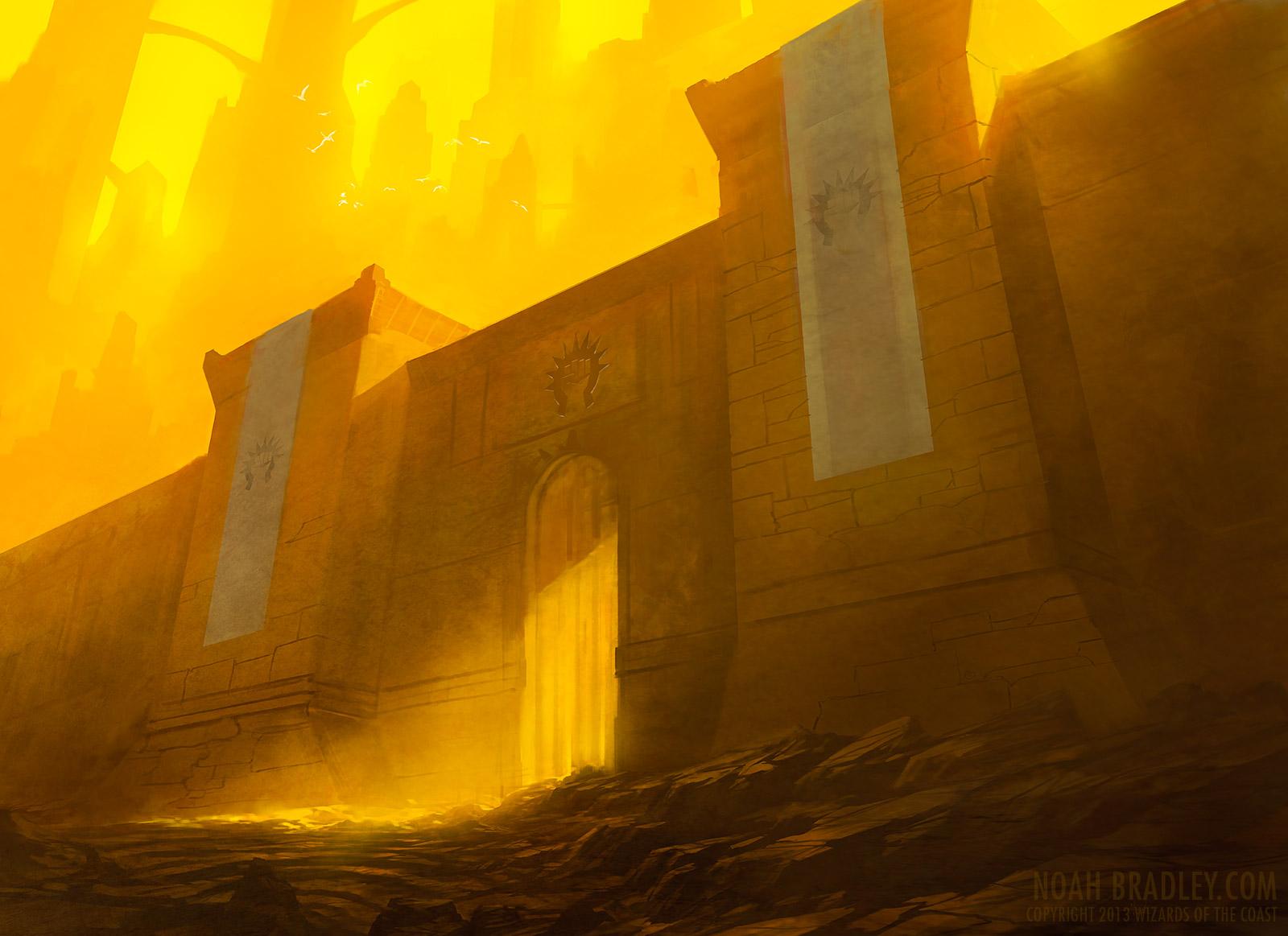 Boros Guildgate by noahbradley