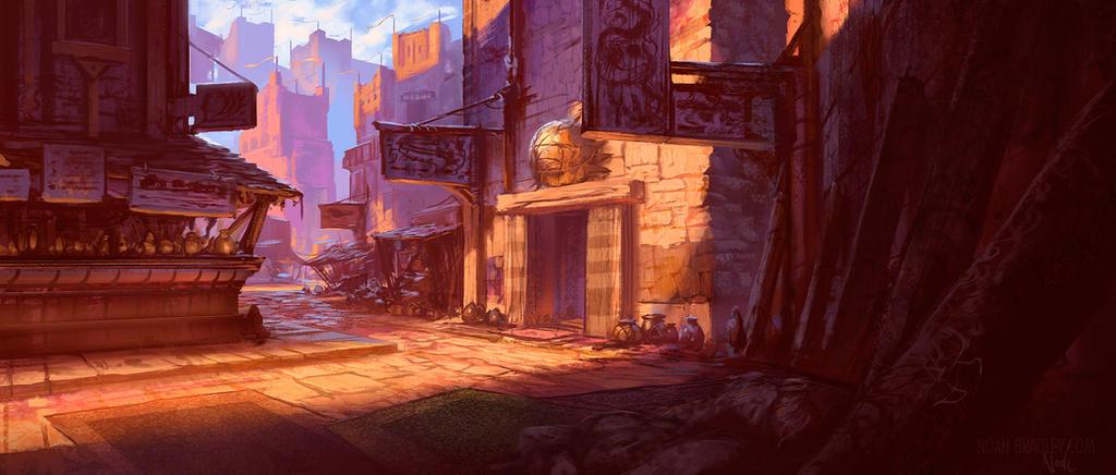 Street scene by noahbradley