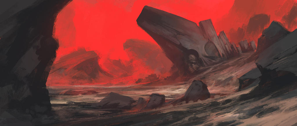 Red sketch by noahbradley