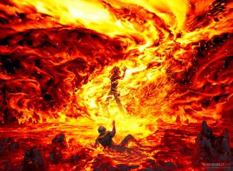 Jaya's Immolating Inferno by noahbradley