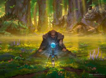 Kamahl's Druidic Vow by noahbradley