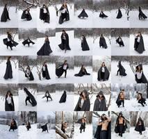 Cloak in the Snow sample sheet by noahbradley