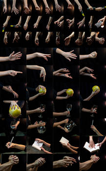 Hand Reference Picture Pack