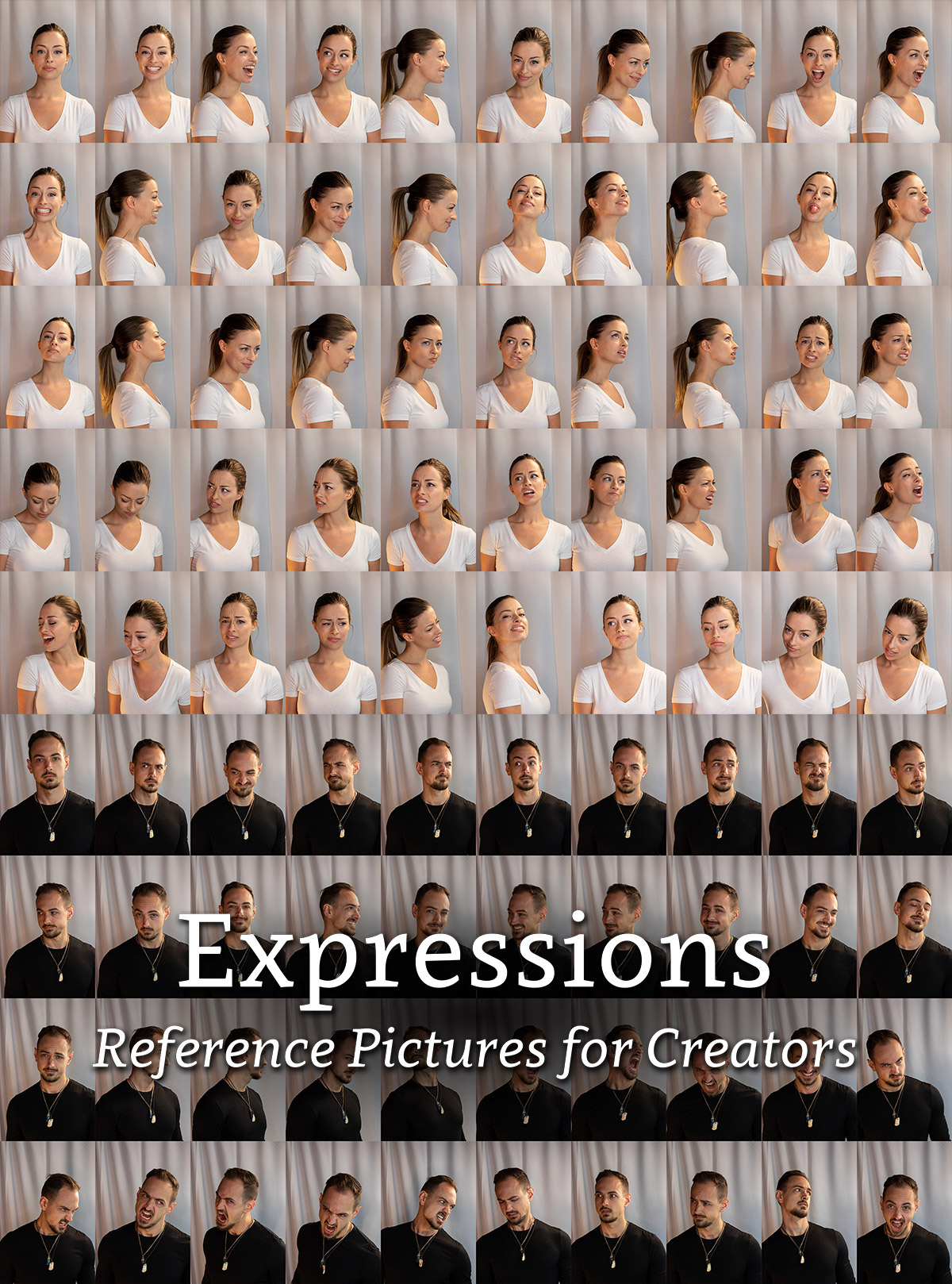 Expressions - Reference Pictures for Creators