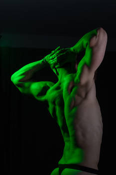 Dramatic Figure Lighting