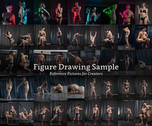 Figure Drawing Sample Stock Pack