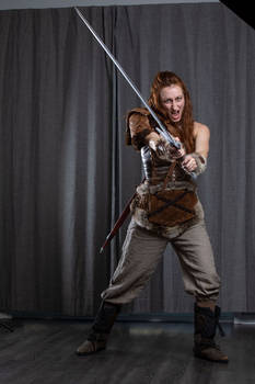 Female Barbarian - Reference Pictures