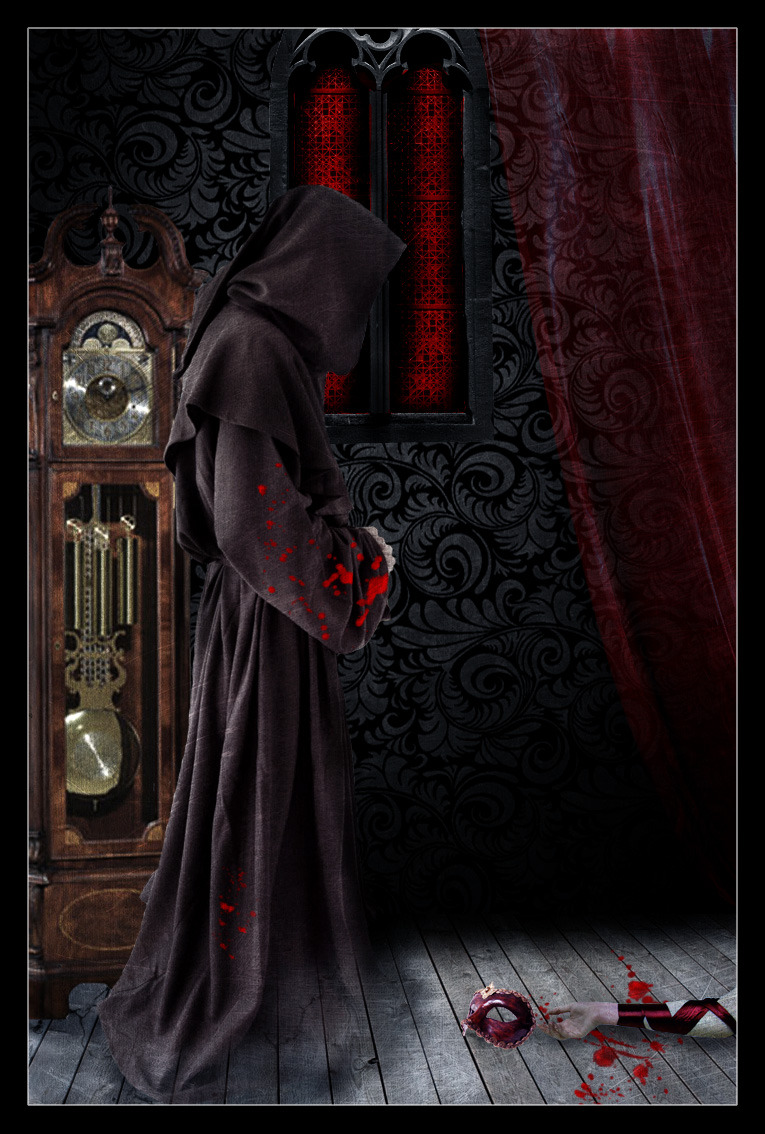 The Masque Of The Red Death Orange Room
