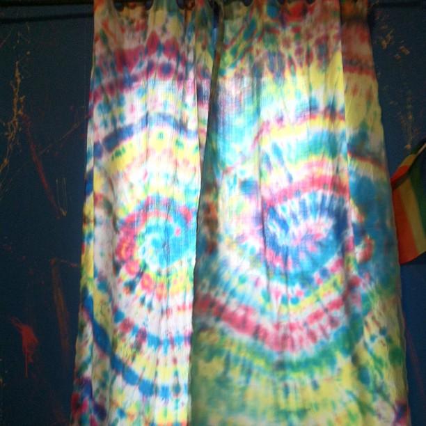 Tie Dye Curtains By Stinaaaaa ...