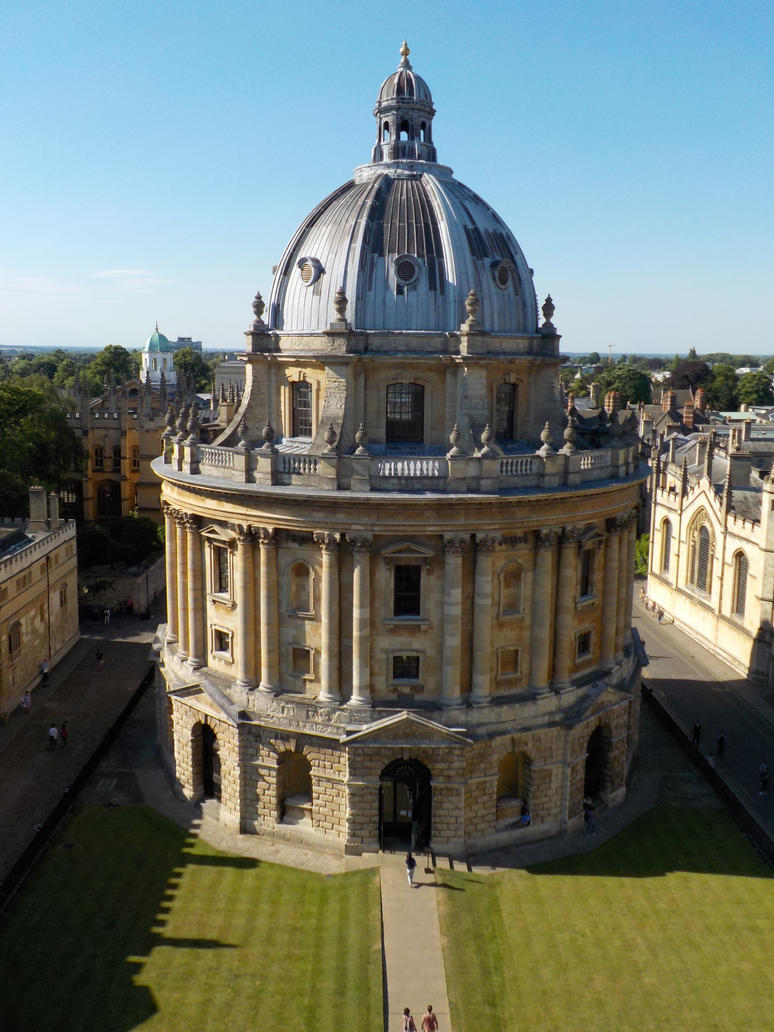 Radcliff Camera Oxford by Artire