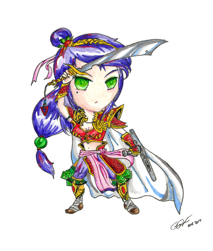Oriental Warrior by Floyduzumaki666