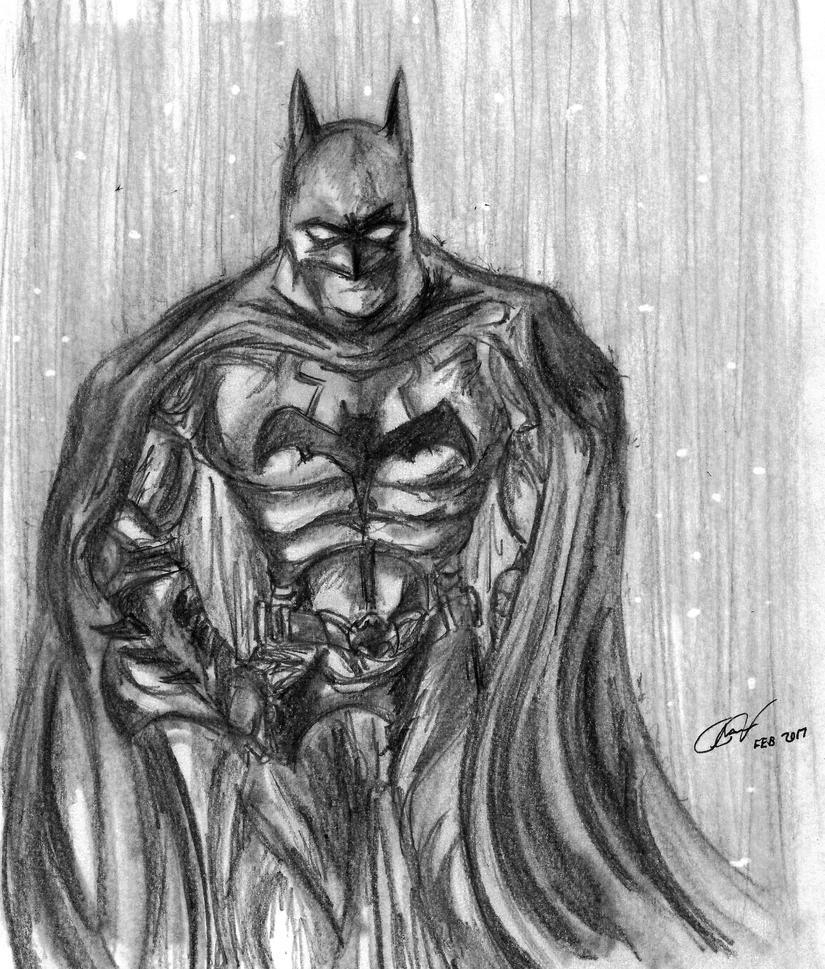 Batman Dark knight by Floyduzumaki666