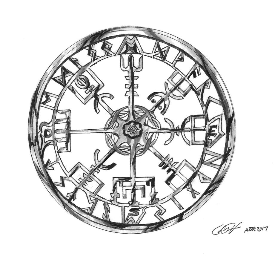 Vegvisir other design by Floyduzumaki666