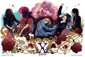 X Japan by LannySu