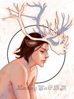 Moose Boy by LannySu
