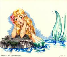 in the sea by LannySu